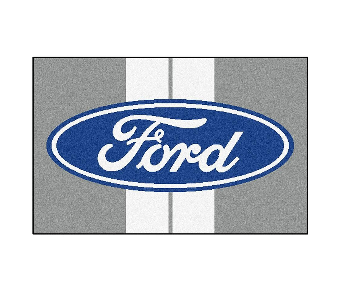 Ford Logo with Le Mans Stripes