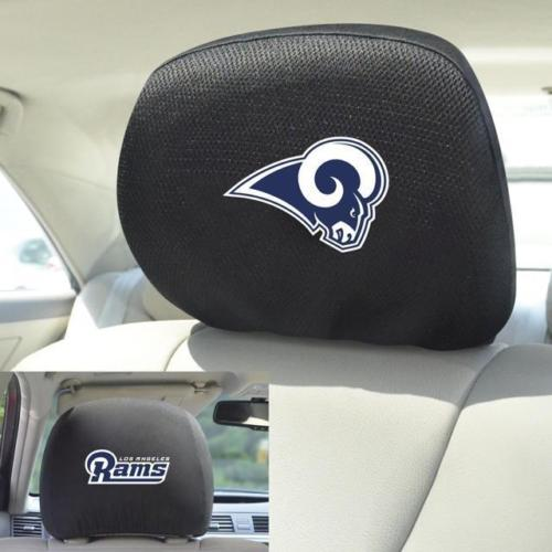 """NFL - Los Angeles Rams Head Rest Cover 10""""x13"""""""