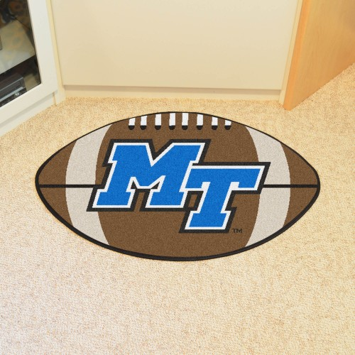 Middle Tennessee State Football Rug 20.5