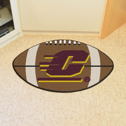 Central Michigan Football Rug 20.5