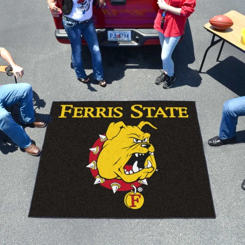 Ferris State Tailgater Rug 60