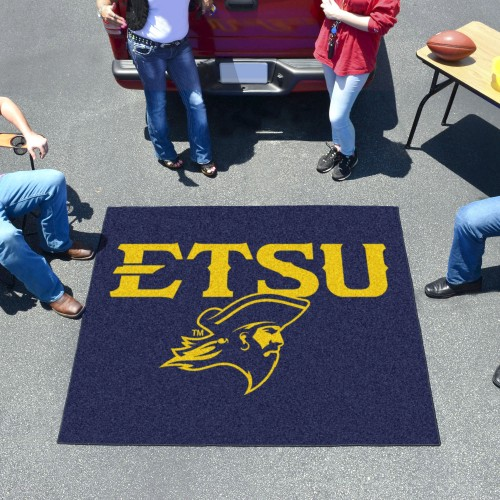East Tennessee State Tailgater Rug 5'x6'