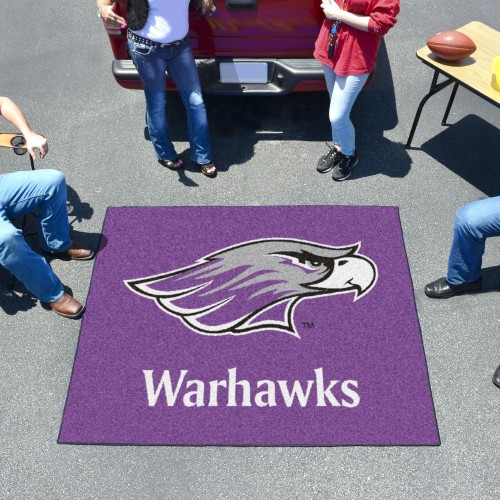 Wisconsin-Whitewater Tailgater Rug 5'x6'