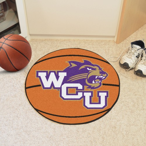Western Carolina Basketball Mat 27