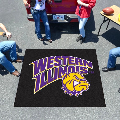 Western Illinois Tailgater Rug 5'x6'