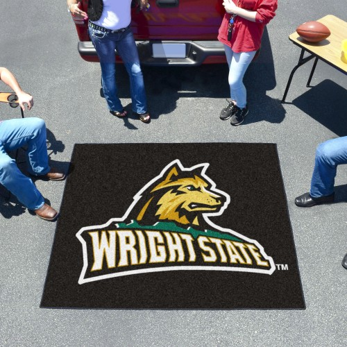 Wright State Tailgater Rug 5'x6'