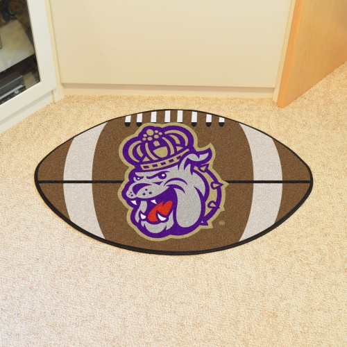 James Madison Football Rug 20.5