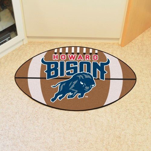 Howard Football Rug 20.5