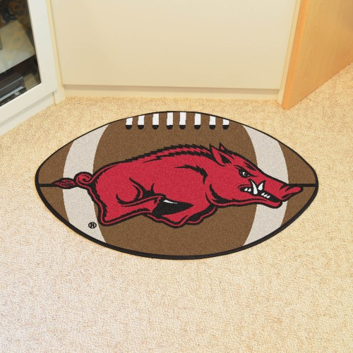 Arkansas Football Rug 20.5