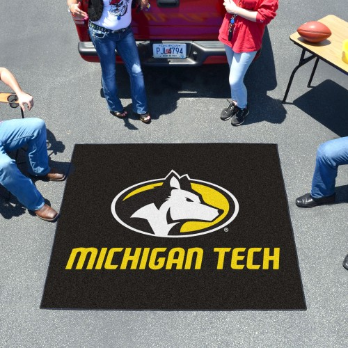 Michigan Tech Tailgater Rug 5'x6'