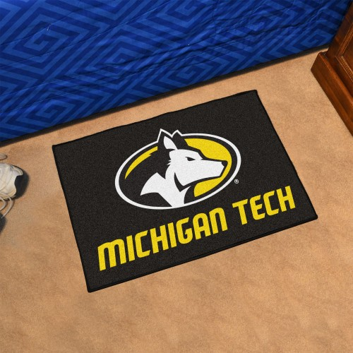 Michigan Tech Starter Rug 19