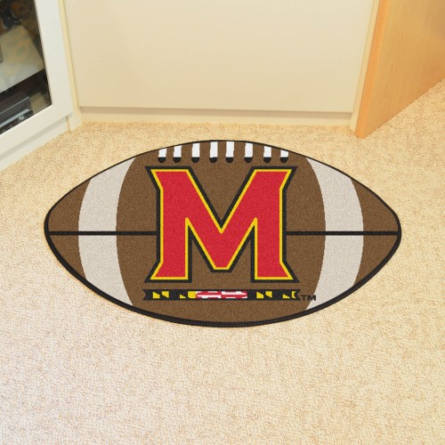 Maryland Football Rug 20.5