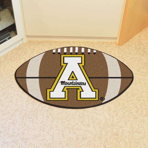Appalachian State Football Rug 20.5