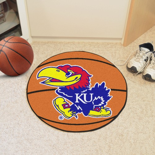 Kansas Basketball Mat 27