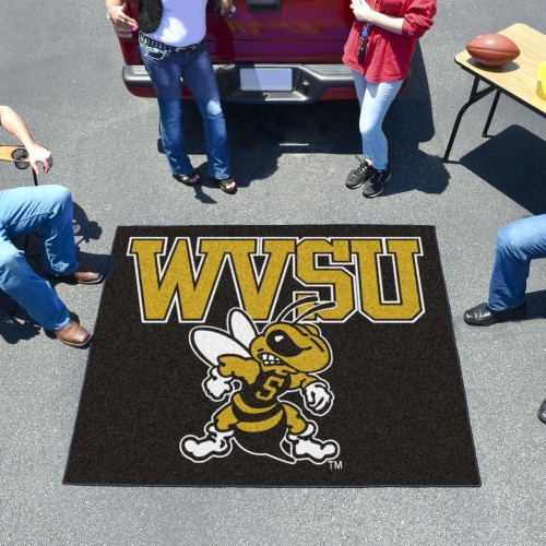 West Virginia State Tailgater Rug 5'x6'