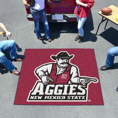 New Mexico State Tailgater Rug 5'x6'