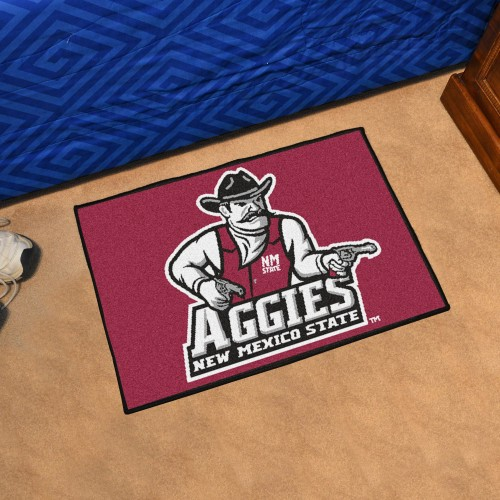 New Mexico State Starter Rug 19
