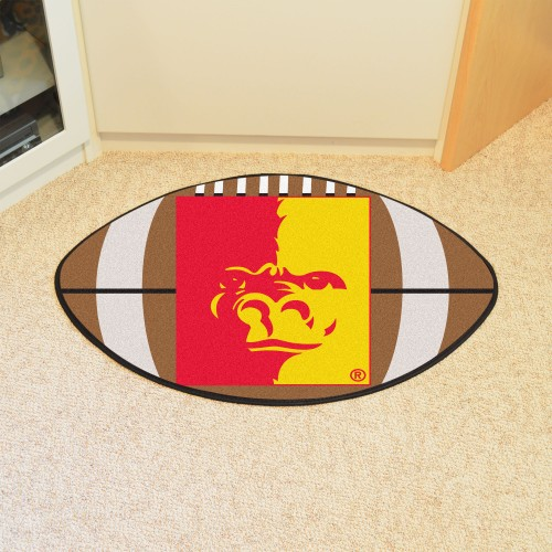 Pittsburg State Football Rug 20.5