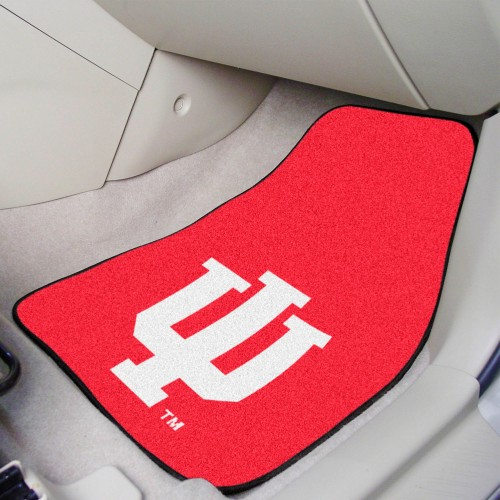 Indiana 2-pc Carpeted Car Mats 17
