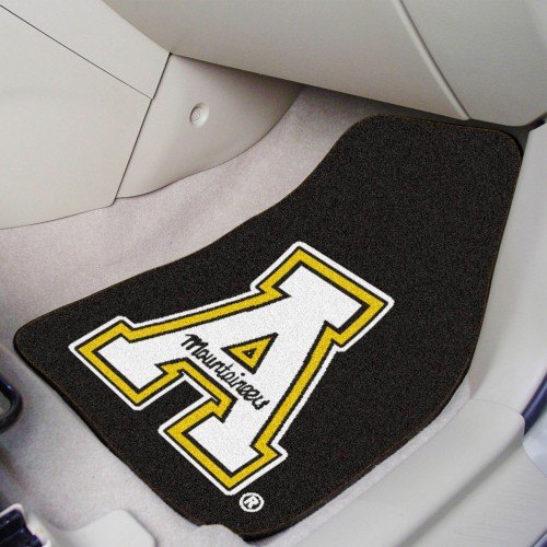 Appalachian State 2-pc Carpeted Car Mats 17