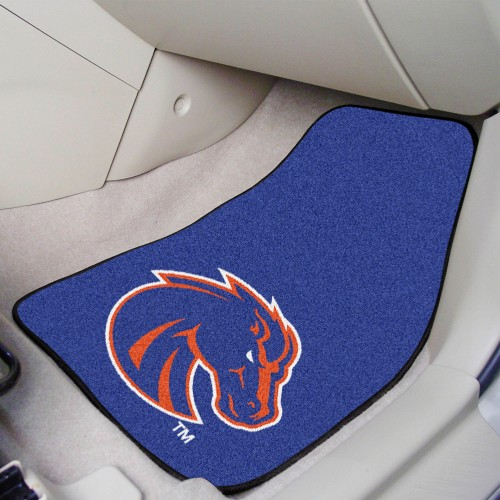 Boise State 2-pc Carpeted Car Mats 17