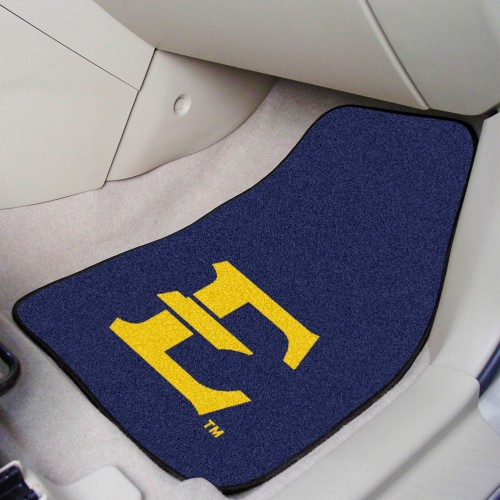 East Tennessee State 2-pc Carpeted Car Mats 17