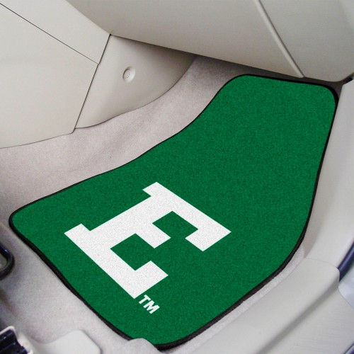 Eastern Michigan 2-pc Carpeted Car Mats 17
