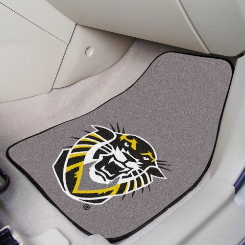 Fort Hays State 2-pc Carpeted Car Mats 17