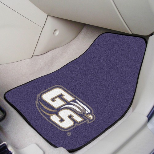 Georgia Southern 2-pc Carpeted Car Mats 17