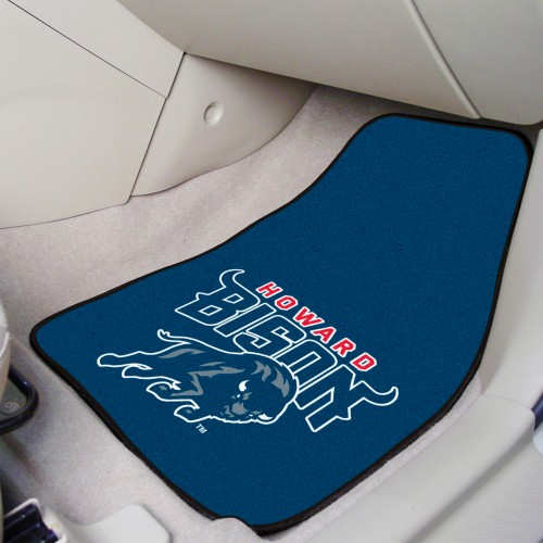 Howard 2-pc Carpeted Car Mats 17