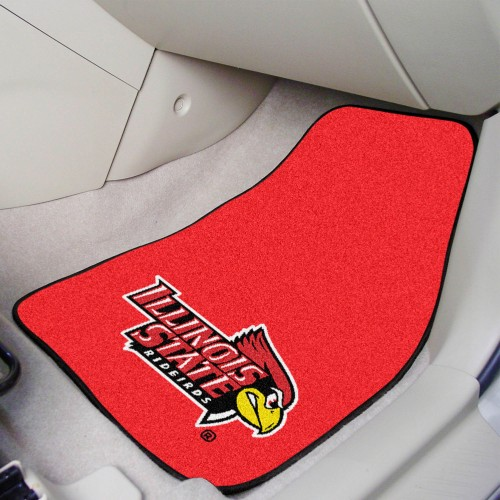 Illinois State 2-pc Carpeted Car Mats 17