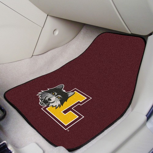 Loyola 2-pc Carpeted Car Mats 17
