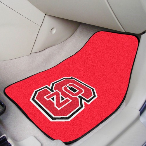NC State 2-pc Carpeted Car Mats 17