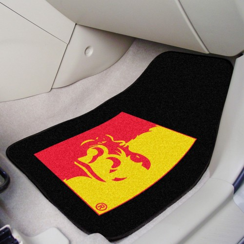 Pittsburg State 2-pc Carpeted Car Mats 17