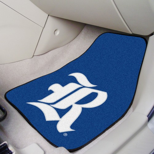 Rice 2-pc Carpeted Car Mats 17