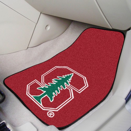 Stanford 2-pc Carpeted Car Mats 17