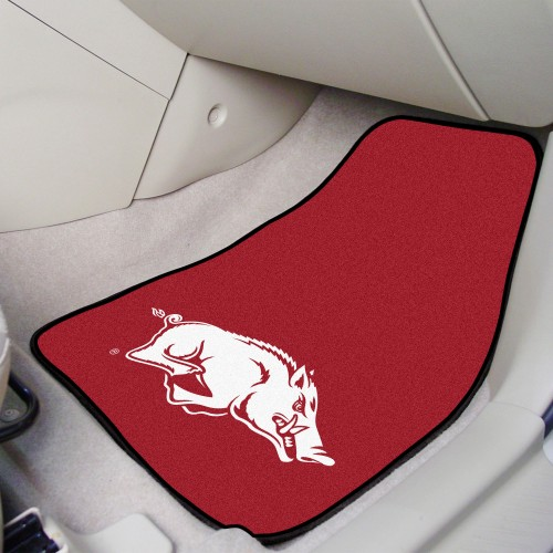 Arkansas 2-pc Carpeted Car Mats 17