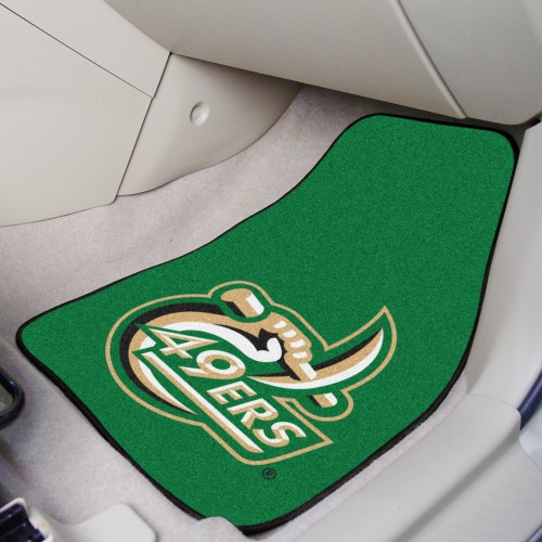 UNC - Charlotte 2-pc Carpeted Cat Mats 17