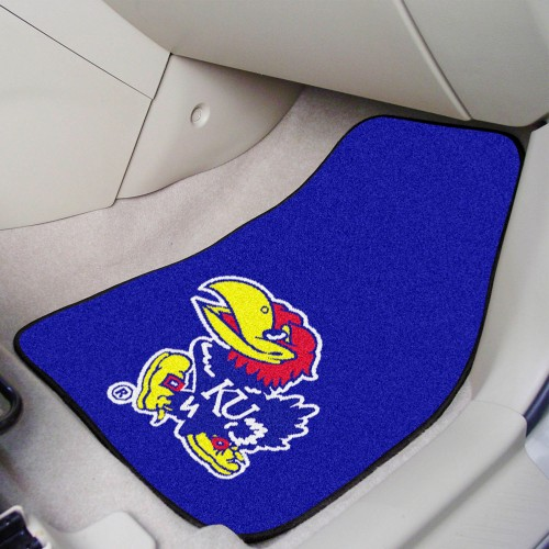 Kansas 2-pc Carpeted Car Mats 17