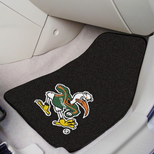 Miami 2-pc Carpeted Car Mats 17