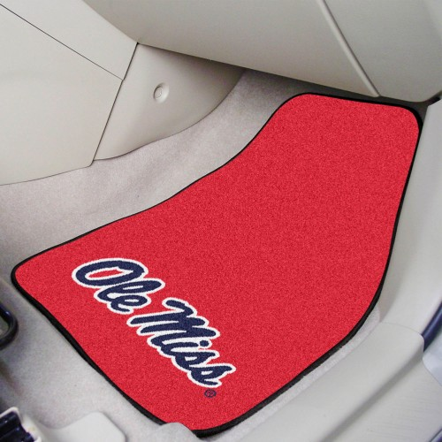 Ole Miss 2-pc Carpeted Car Mats 17