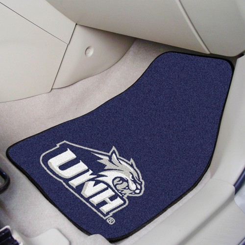New Hampshire 2-pc Carpeted Car Mats 17