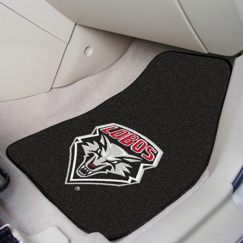 New Mexico 2-pc Carpeted Car Mats 17
