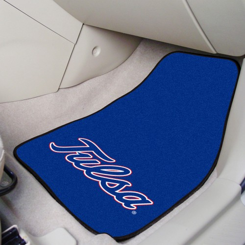 Tulsa 2-pc Carpeted Car Mats 17