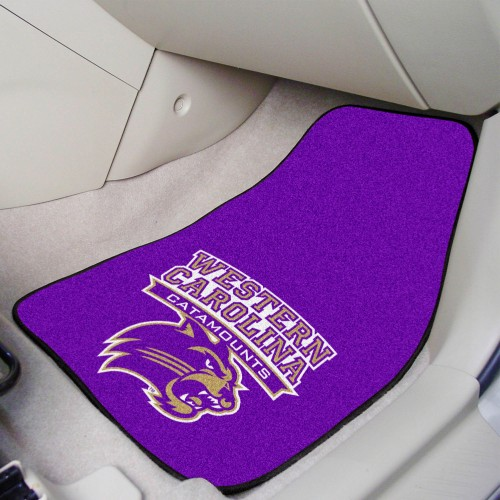 Western Carolina 2-pc Carpeted Car Mats 17