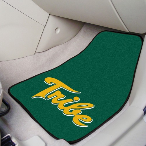 William & Mary 2-pc Carpeted Car Mats 17