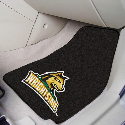Wright State 2-pc Carpeted Car Mats 17