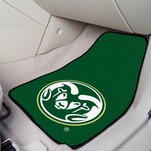 Colorado State 2-pc Carpeted Car Mats 17