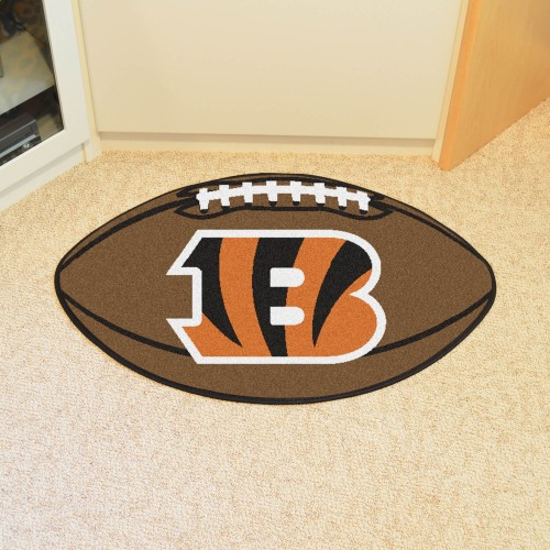 NFL - Cincinnati Bengals Football Rug 20.5
