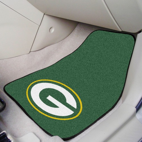 NFL - Green Bay Packers 2-pc Carpeted Car Mats 17